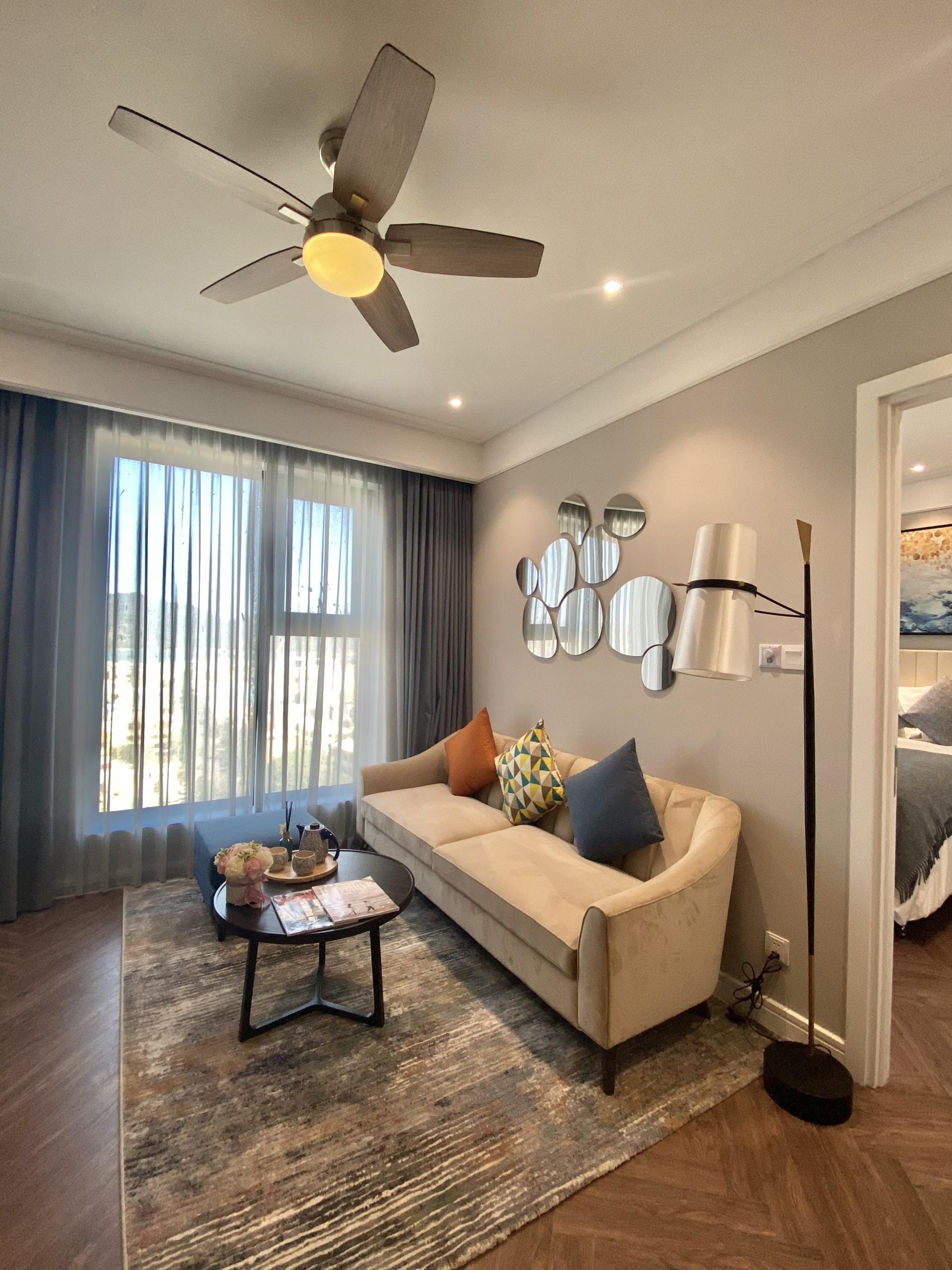 Phòng khách căn hộ altara residences quy nhơn