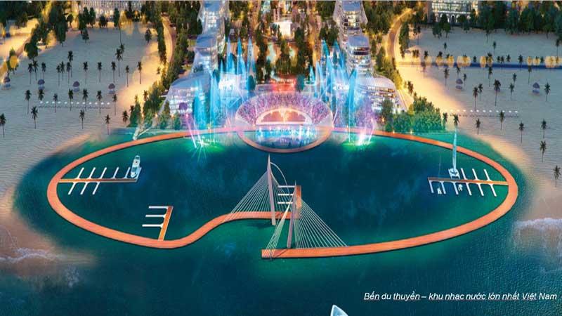 quảng trường nhạc nước hải giang